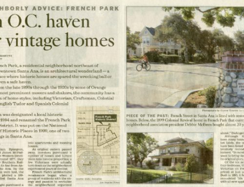 An O.C. haven for vintage homes