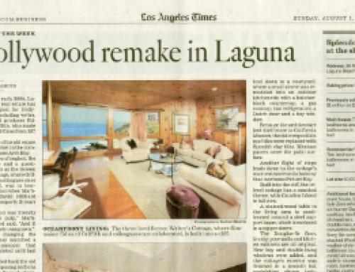 Hollywood remake in Laguna