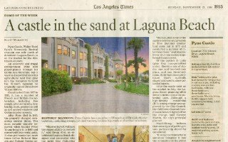 A castle in the sand at Laguna Beach thumbnail