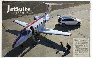 JetSuite is gaining altitude article by Scott Marshutz