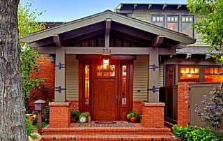Craftsman in the Belmont Park neighborhood of Long Beach is a hybrid of classic Arts and Crafts styling and modern function